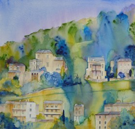 Bath Slopes - giclee print available