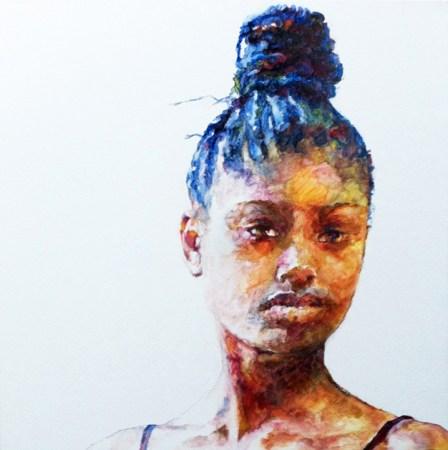 Francesca - oil portrait