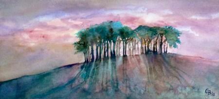 Grove of trees iii - giclee print available