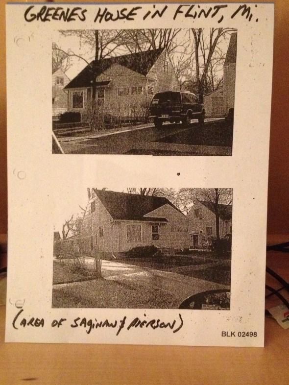 5510 Baldwin, Flint, MI--Green's residence in Flint, MI