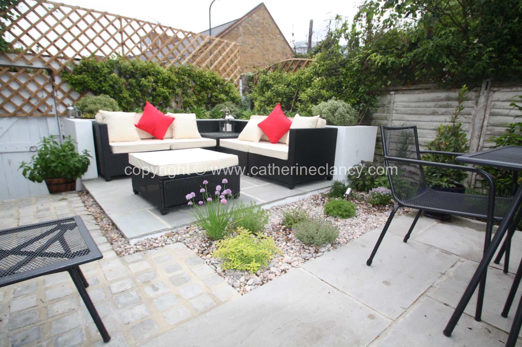 Low Maintenance Courtyard Garden Garden Design London
