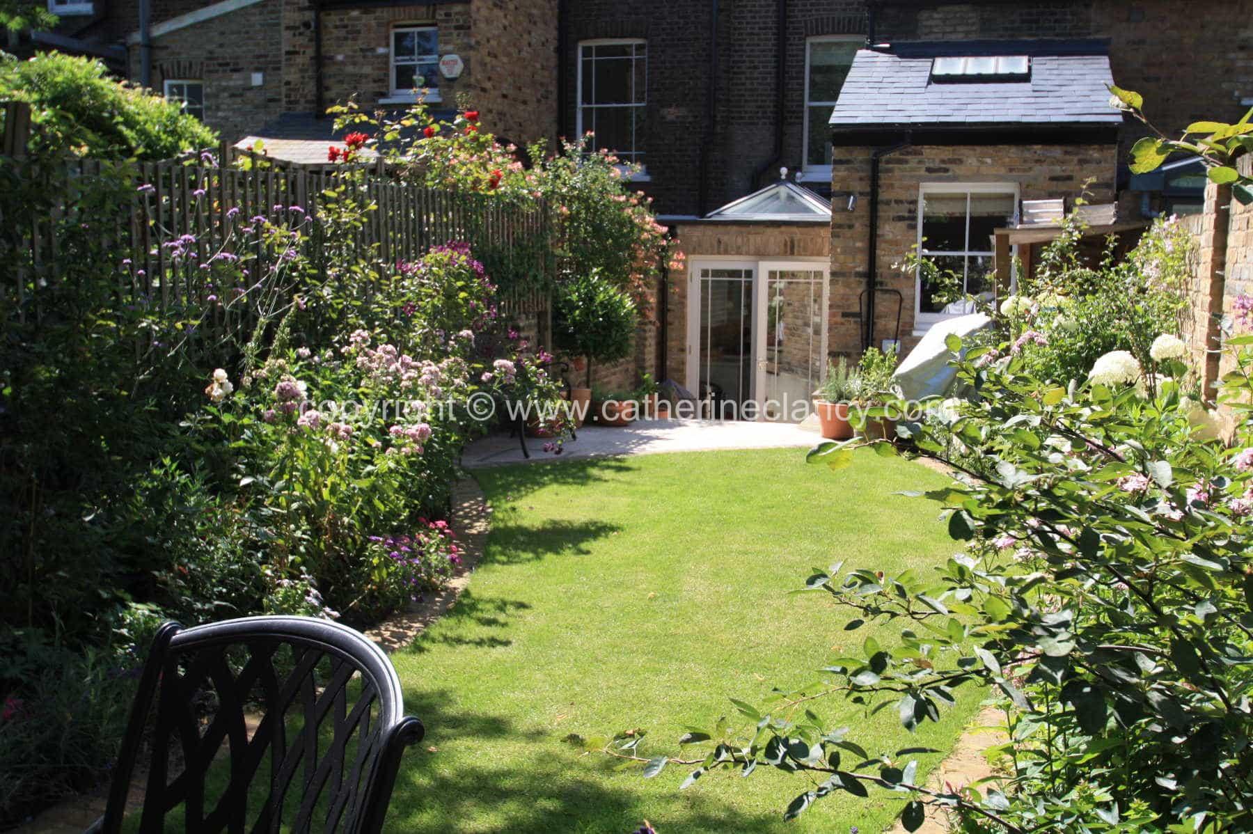 Victoriannorthfacinggarden9  Garden Design London