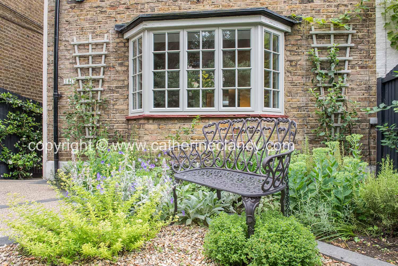 contemporary blackheath front garden 1