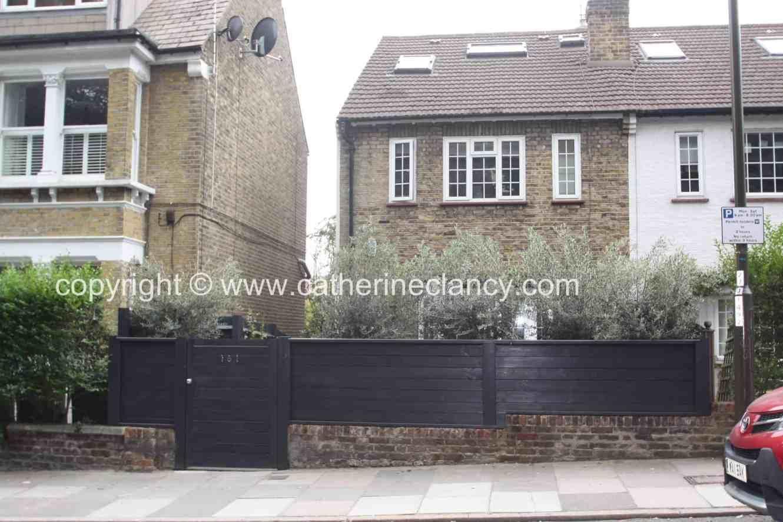 contemporary blackheath front garden 8