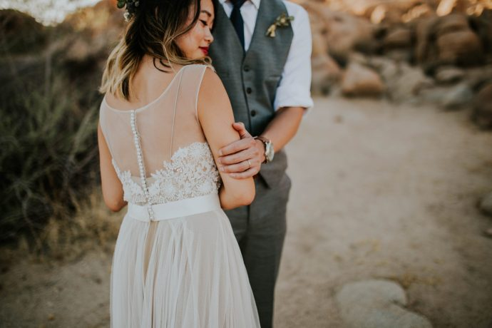 Mandy & Joey Joshua Tree Elopement California Wedding Photographer-115
