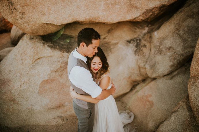 Mandy & Joey Joshua Tree Elopement California Wedding Photographer-197