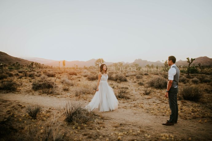 Mandy & Joey Joshua Tree Elopement California Wedding Photographer-281