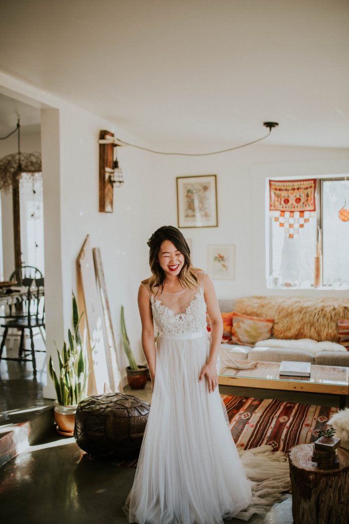 Mandy & Joey Joshua Tree Elopement California Wedding Photographer-31