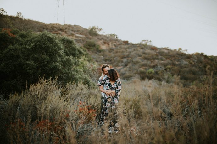 Valerie & Zach Laguna Canyon Couple Session-794