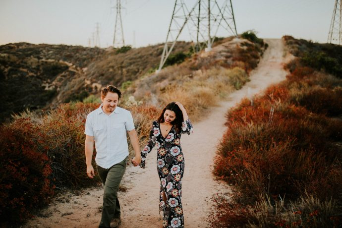 Valerie & Zach Laguna Canyon Couple Session-889