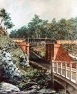 Railway Bridge, Junee, mixed media