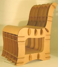 How To Make A Cardboard Chair. Cardboard Chair. 5 Amazing