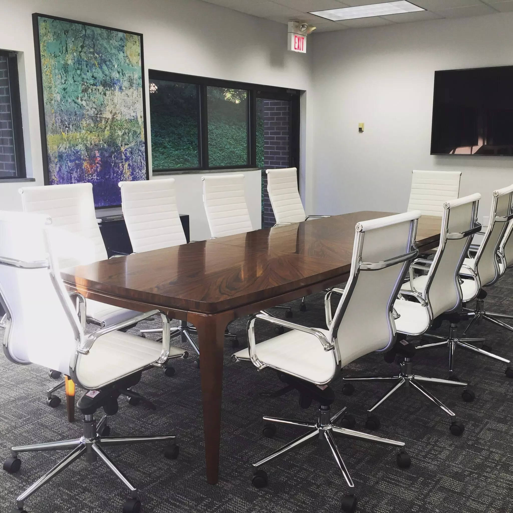 Commercial Design with Conference Table