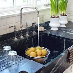 Soapstone Kitchen Counters Cabinet Range Hood Design Countertops Catherine French Veiny Countertop Inspriation This