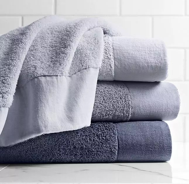 interior designer luxury towels