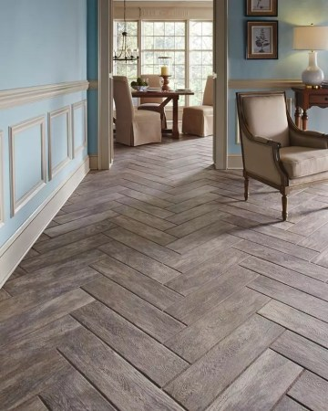 Herringbone Living Room