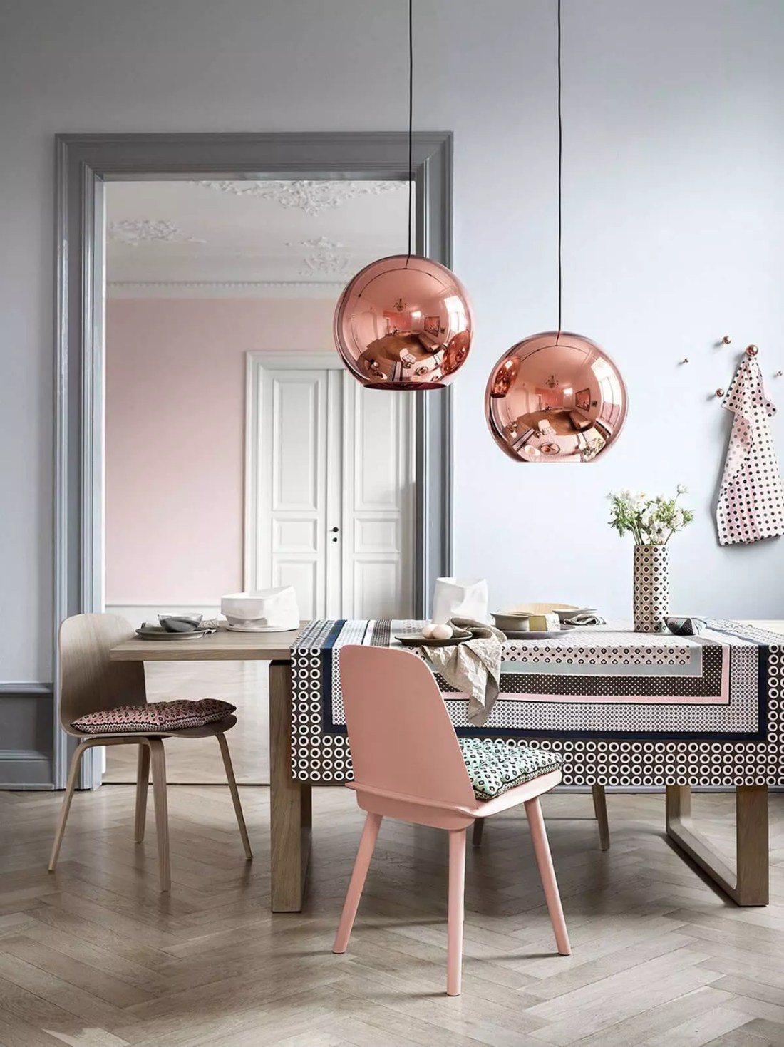 Using Rose Gold in your Designed Space