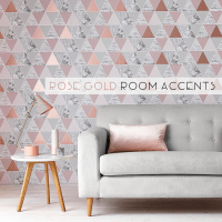 Rose Gold Room Accents {How to}