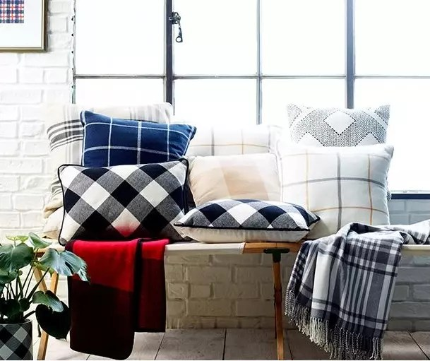 Tartan Pillows - Catherine French Design