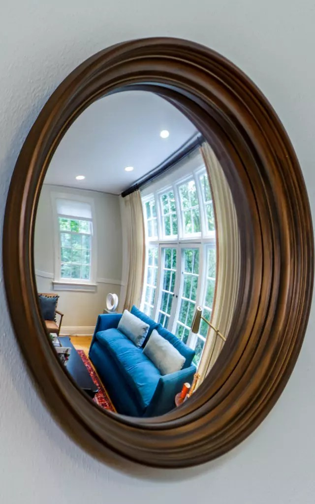 Catherine French Design - Fish Eye Mirror