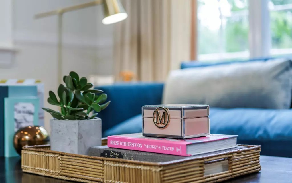 Catherine French Design - Styled Coffee Table Tray