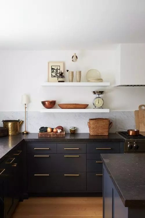 Color Crush: Black - Cabinets
