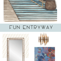 Fun Entryway {Idea}
