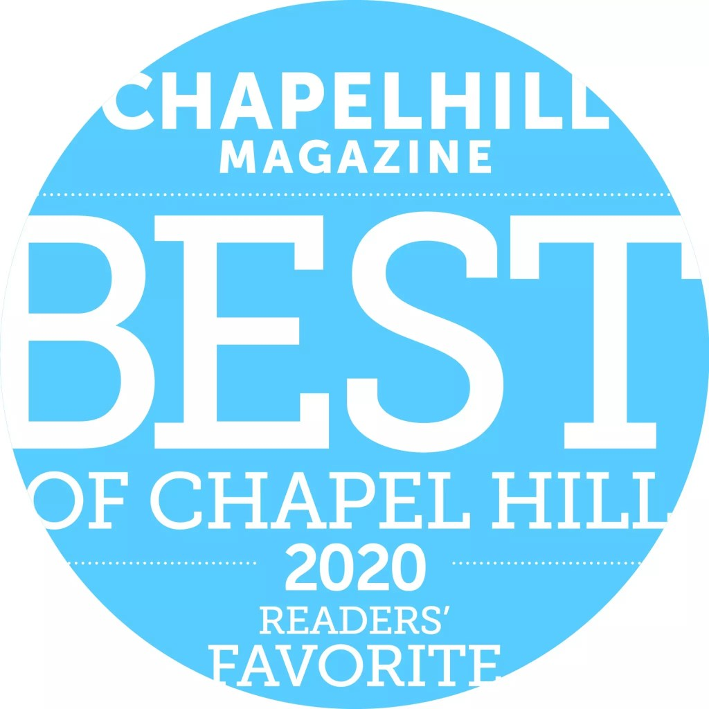 Chapel Hill Magazine best of 2020 - Cat French Design