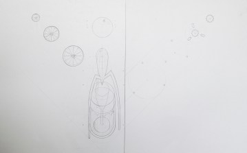 Juicy Salif, Layered Axonometric (Drafted)