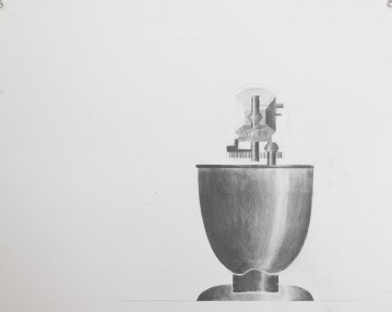 KitchenAid Mixer, Light Study (Drafted plus Graphite)
