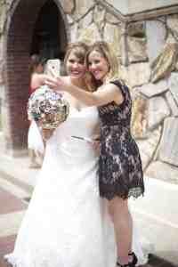 Selfies, selfies to wedding photos