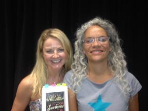Sarah Hadland and Catherine Johnson