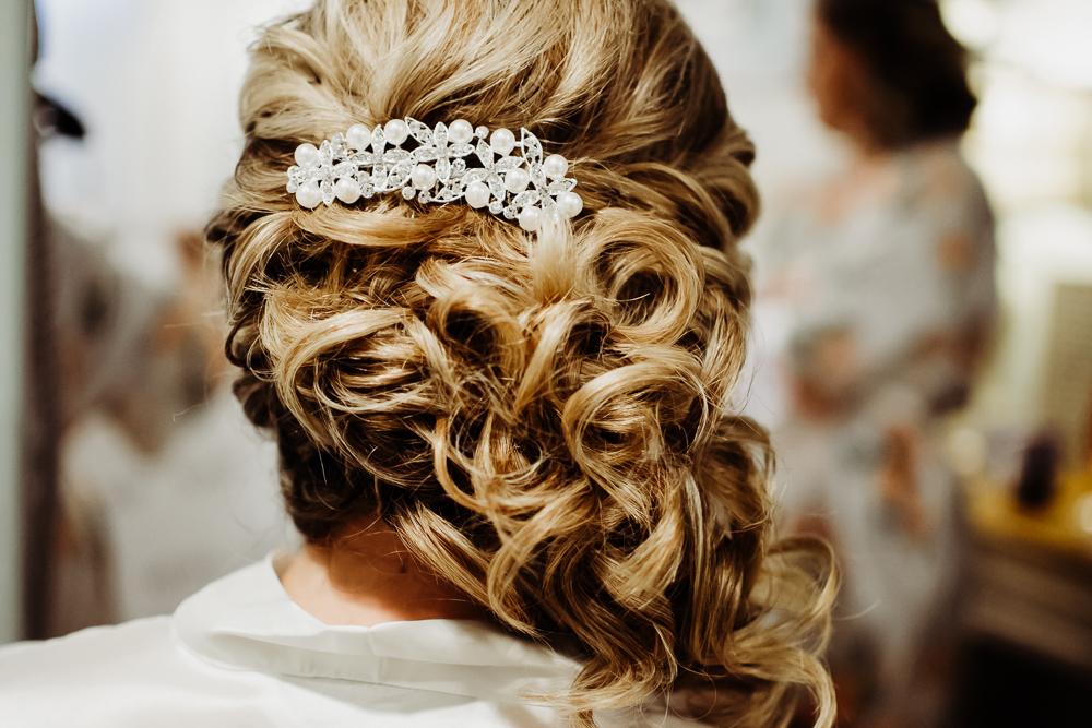 bridal hair pin {virginia beach wedding couples family newborn photographer}