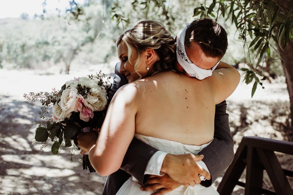 first look bride groom bridal bouquet {virginia beach wedding couples family newborn photographer}