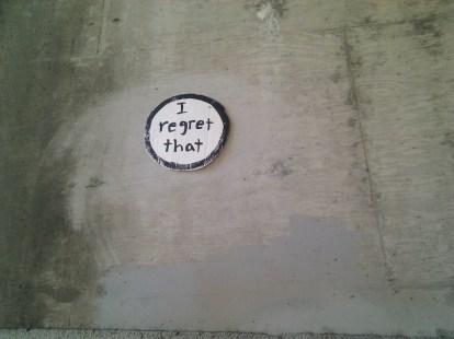 regret button