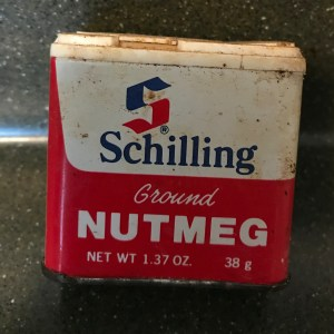 Old Schilling Ground Nutmeg Tin