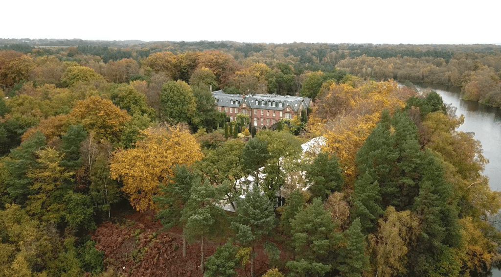 Nunsmere Hall Drone Footage