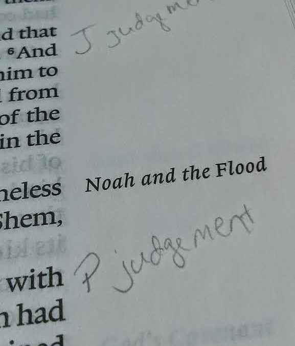 Noah's Flood: God Changes His Mind