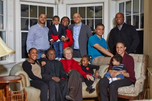 All the family together, December 26 2013