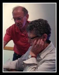 Dan Woog and Gail Harris