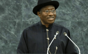 President Goodluck Jonathan photo by Amanda V UN
