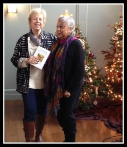 Mildred and me at Christ and Holy Trinity Church after my talk.
