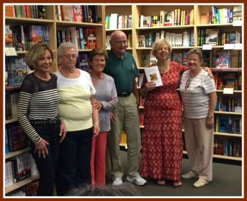 Five Highlands High School classmates came to Joseph-Beth Booksellers talk.