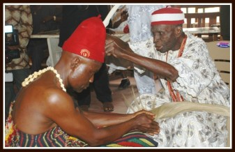 Traditional healer from article by Patrick E. Iroegbu Ph.D.