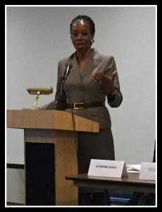 Ugochi Daniels, panelist