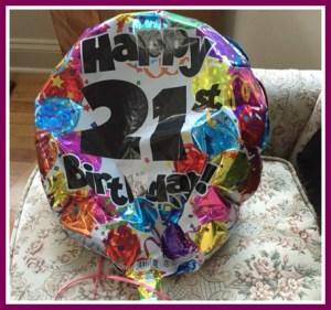 family birthday balloon