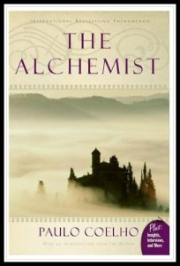 Coelho's best-selling The Alchemist about a pilgrimage