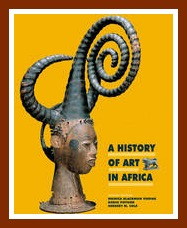 One of Cole's books on Igbo masks, Beauties and Beasts