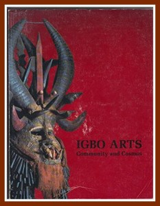 I've ordered his book on Igbo Arts with Beasts and Beauties.