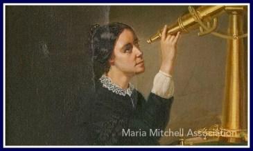 Maria Mitchell portrait by Herminia B